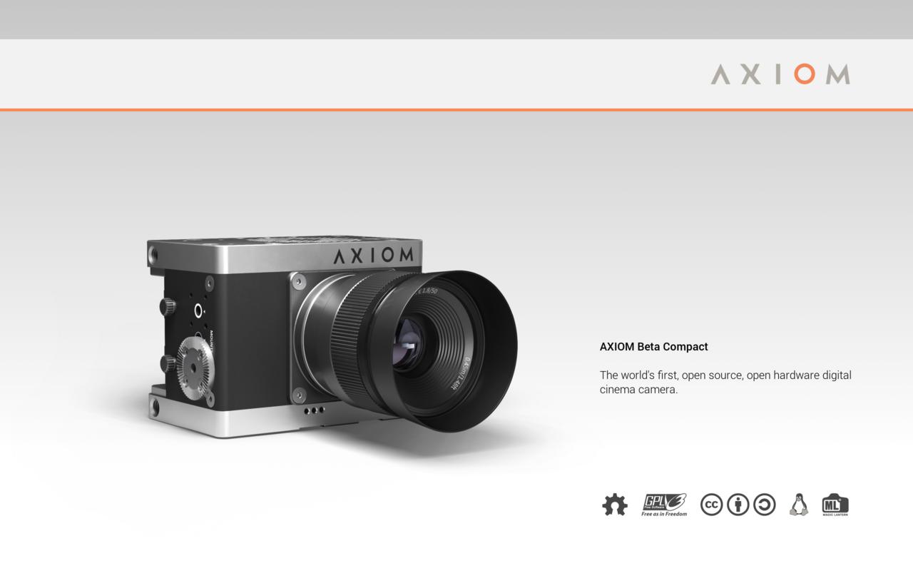 AXIOM Beta Compact Concept
